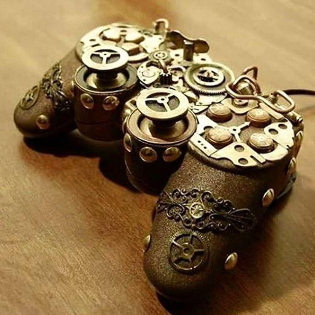 Steampunk Gaming Controller