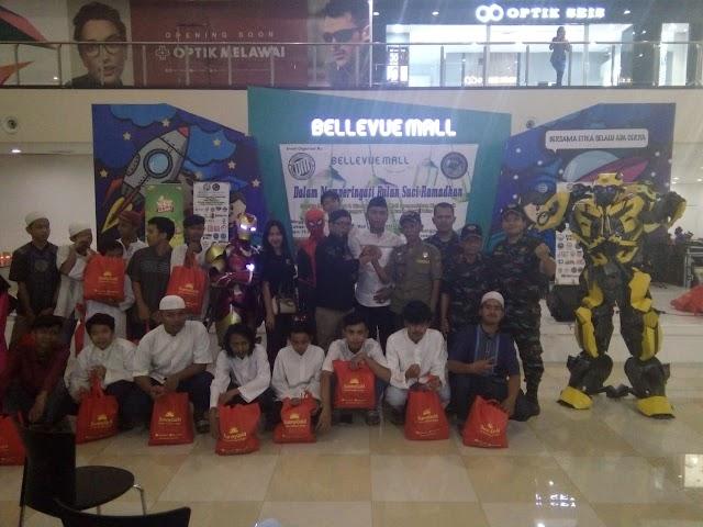 Garda Siliwangi dan Bellevue Mall Cinere Santuni 100 Yatim dan Dhuafa