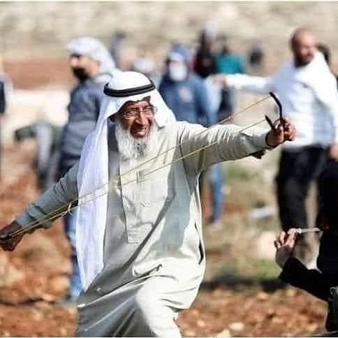 Saeed Aramy, Kakek Pemberani asal Palestina Ditangkap Pasukan Israel