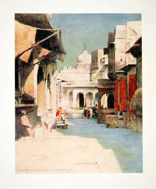 1912. Jeypore, India - Menpes Mortimer Luddington - Color Print