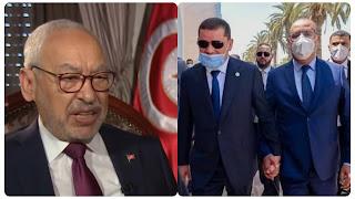 راشد الغنوشي يعبر عن سعادته و يرحّب بالاتّفاقات التي ابرمت بين تونس وليبيا