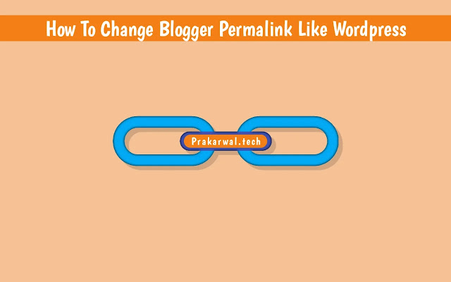 How To Change Blogger Permalink