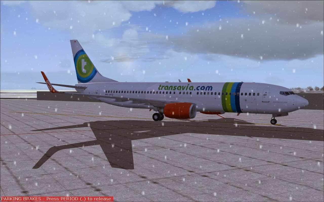 FS2004 REPAINTS: TDS 737-800SFPW Transavia PH-GGZ // PH-GUB leased