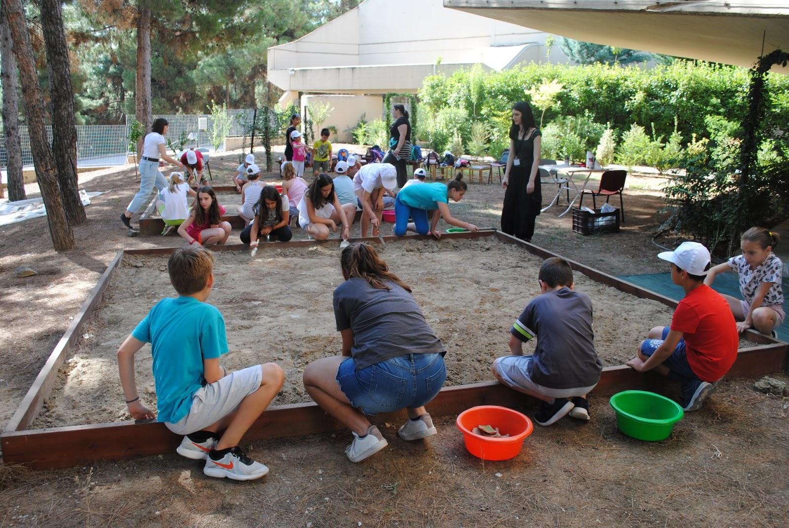 Μικροί Κατασκηνωτές - Μεγάλοι αρχαιολόγοι