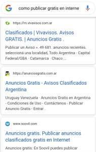como publicar anuncios en internet