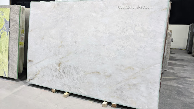 3cm Cristallo Natural Stone Quartzite Slab NYC