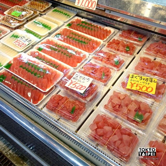 【泊港魚市場】從國際通走路可到的魚市場 裡面滿是美味便宜鮪魚