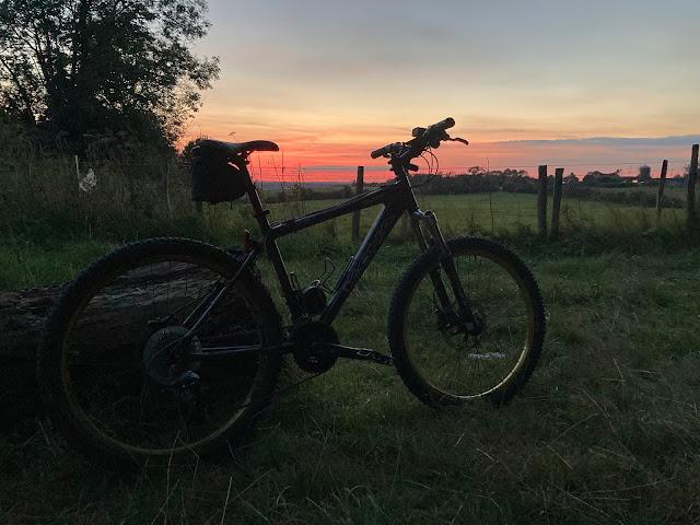 after work sunset
