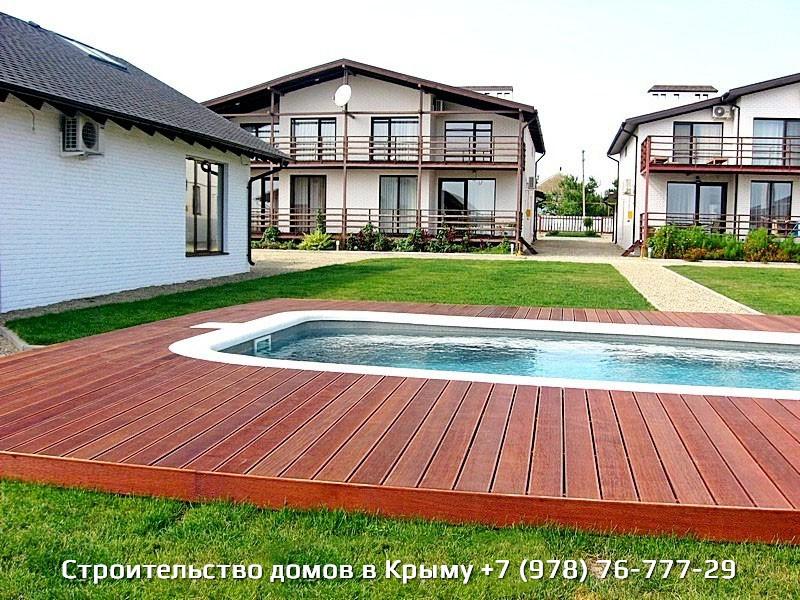 Фото современных построенных домов в Крыму