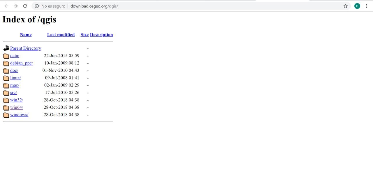 Blog SIG: Como descargar cualquier versión de QGIS