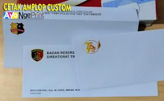 cetak amplop perusahaan custom di Kebon Jeruk, Jakarta Barat