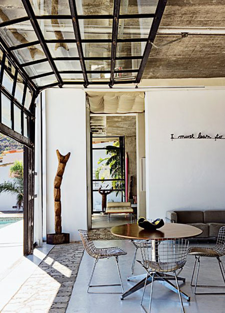 refresheddesigns.: converting a garage into living space