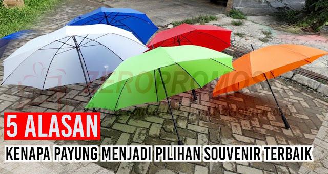 5 Alasan Kenapa payung adalah pilihan Souvenir Terbaik