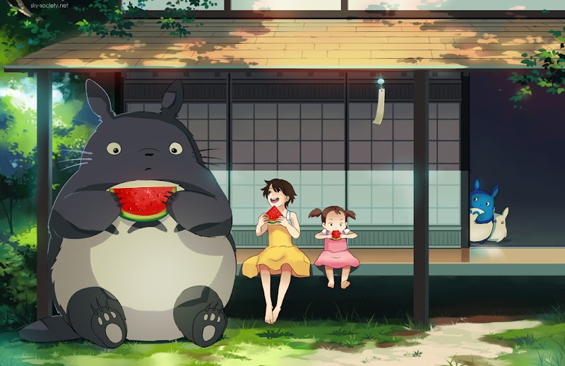 Review : Anime My Neighbour Totoro - Petualangan Seru Di Pedesaan
