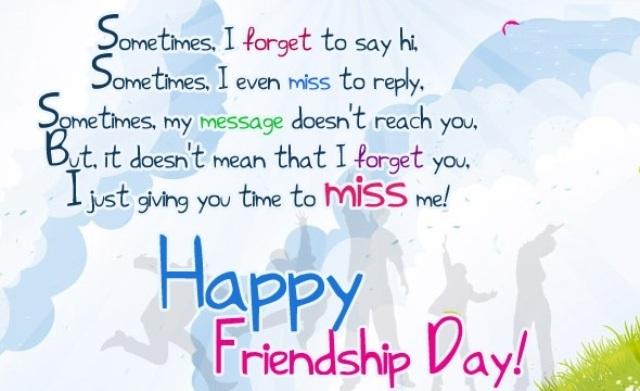 Friendship day 2017 Whatsapp Status, wishes, DP
