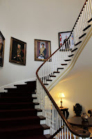 Picture of the staircase in the Government House in Halifax