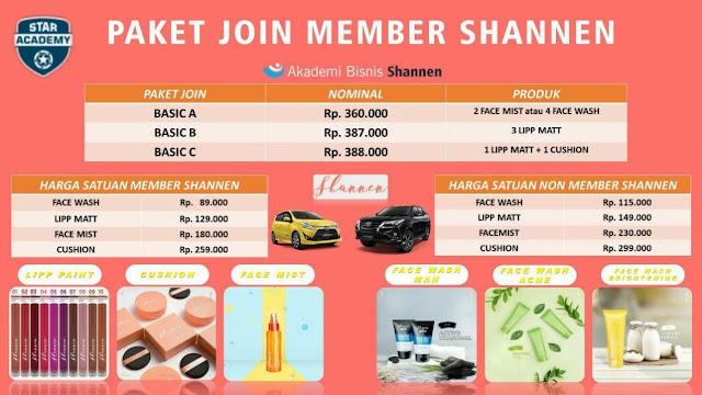 paket join shannen terbaru