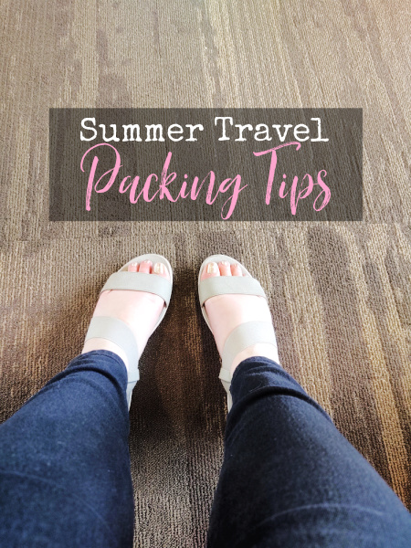 Even though you may be road tripping, remember that packing light helps you save room for food, purchases, and everyone else you're traveling with.