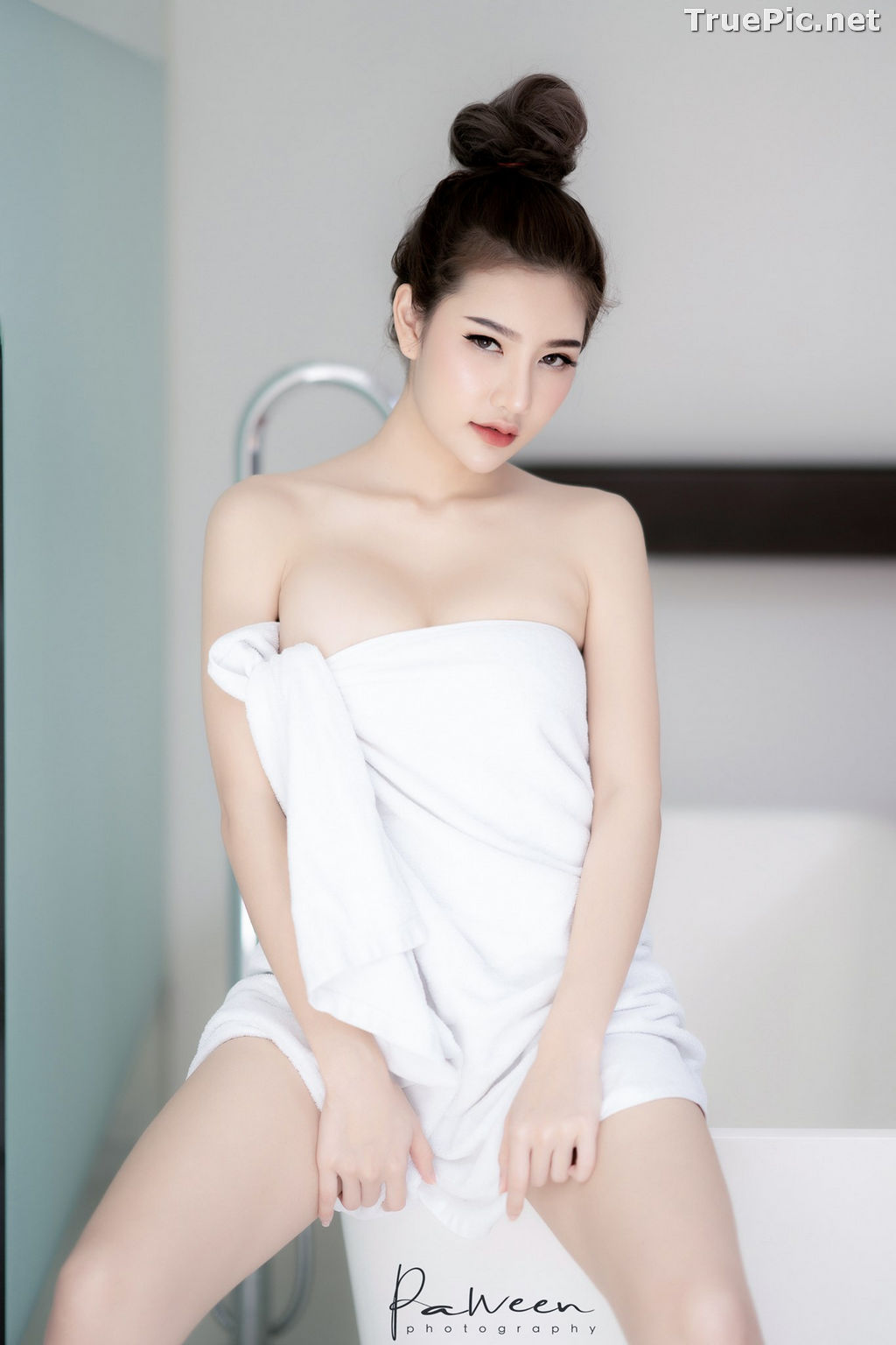 Image Thailand Model - Atittaya Chaiyasing - Take Shower After a Nice Day - TruePic.net - Picture-3