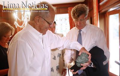 Patrick  Kennedy visitó a PPK