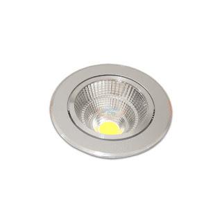 10W 4吋 COB LED投射崁燈 9.5cm嵌入孔,燈頭可調整角度