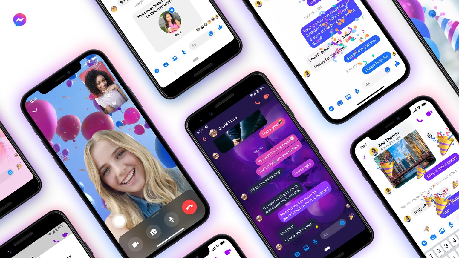 Facebook festeggia i 10 anni di Messenger con 10 nuove funzionalità