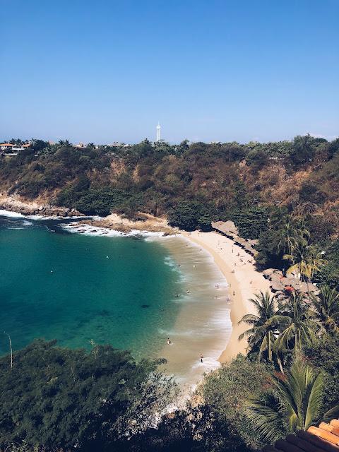 Carrizalillo beach Puerto Escondido Mexico