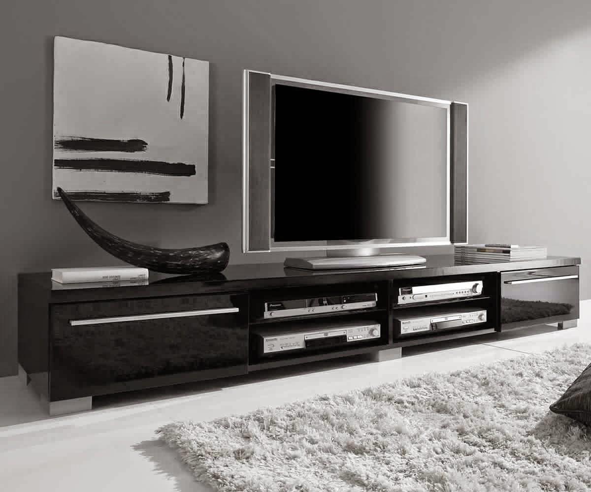 meuble tv noir laqu fly gallery of large size of modernes fr meuble tv noir et blanc laque fly. Black Bedroom Furniture Sets. Home Design Ideas