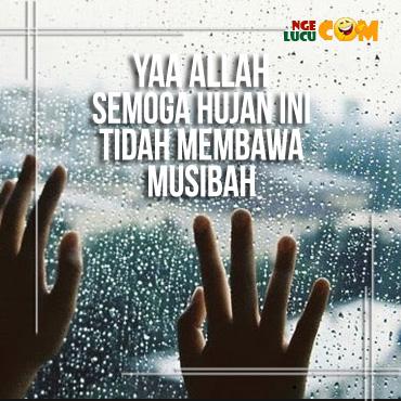 DP BBM Doa Saat Hujan