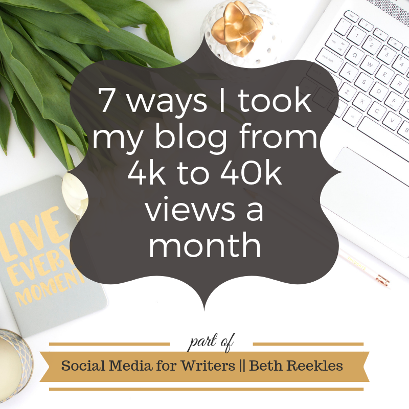 In 2018, my blog had over half a million views - compared to around 30k the year before. In this post, I go over some of the things I did to achieve that level of growth.