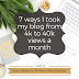 Social Media for Writers: 7 ways I took my blog from 4k to 40k views a month