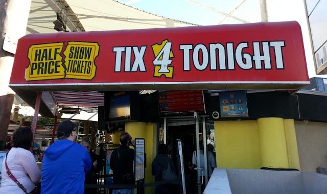 Sobre a Tix4Tonight em Las Vegas