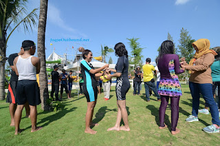 Outbound di Jogja Bay