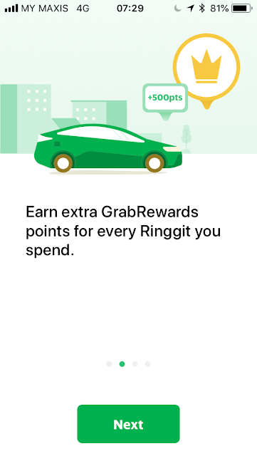 GrabPay welcome screen #2