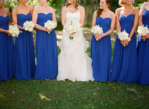 A Royal Blue Sundress For Spring Or Summer  With Love