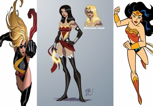 04-Ms-Marvel-and-Wonder-Woman-comics-Eric-Guzman-Superhero-MashUp-www-designstack-co