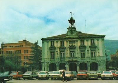 Postal Mieres, ayuntamiento. Ed. Carmen González Eguren
