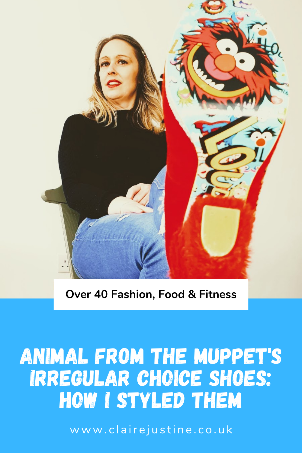 Animal from The Muppet's Irregular Choice Shoes: How I Styled Them.