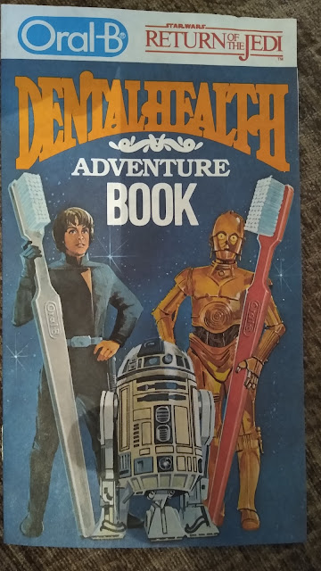 oral-b dental adventure book star wars