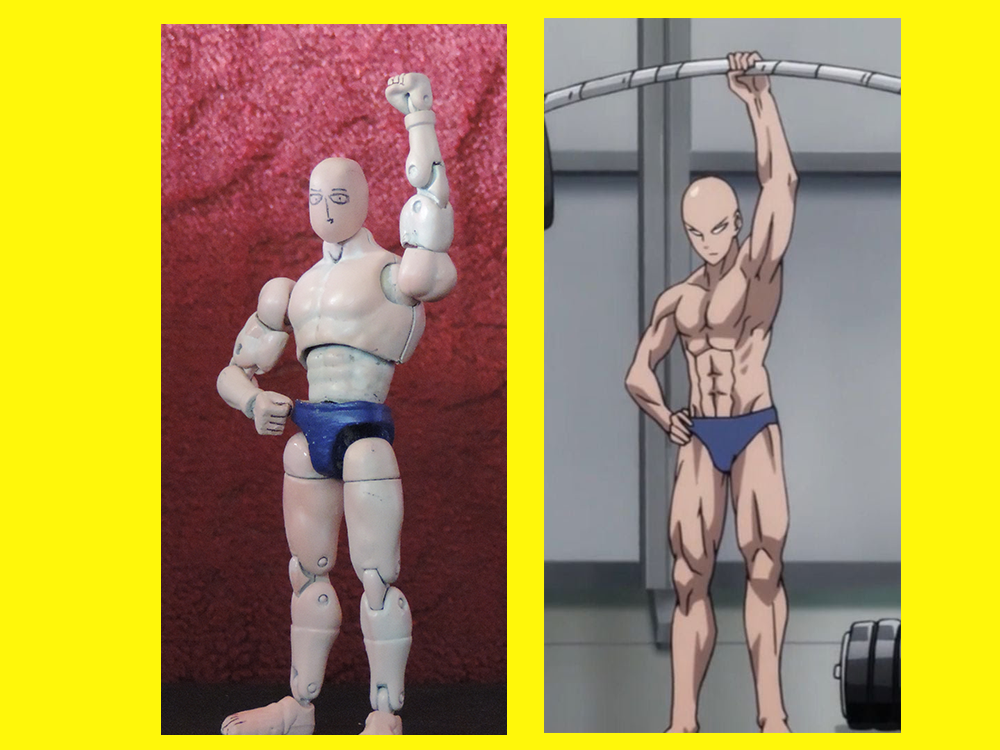 Custom Action Figure Saitama