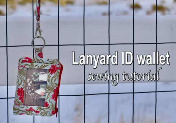 Yoan Sewing Studio Lanyard Mini Wallet