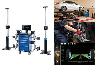 Máy kiểm tra góc đặt bánh xe công nghệ 3D i-geoliner Gold3