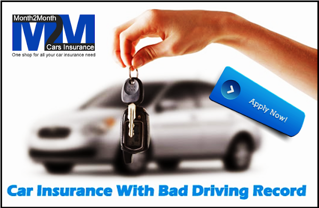 Get Cheap Auto Insurance For Bad Driving Record Holders