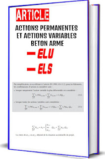 ACTIONS PERMANENTES ET ACTIONS VARIABLES BETON ARME