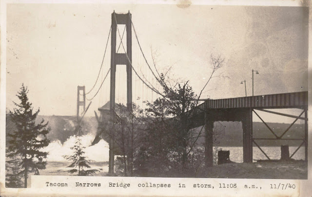 7 November 1940 worldwartwo.filminspector.com Tacoma Narrows Bridge Galloping Gertie