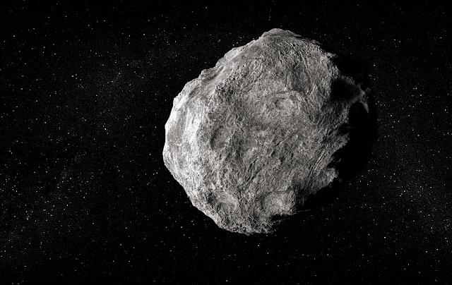 cara amati asteroid raksasa yang lintasi bumi hari ini