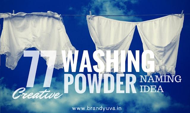 washing powder brand names idea