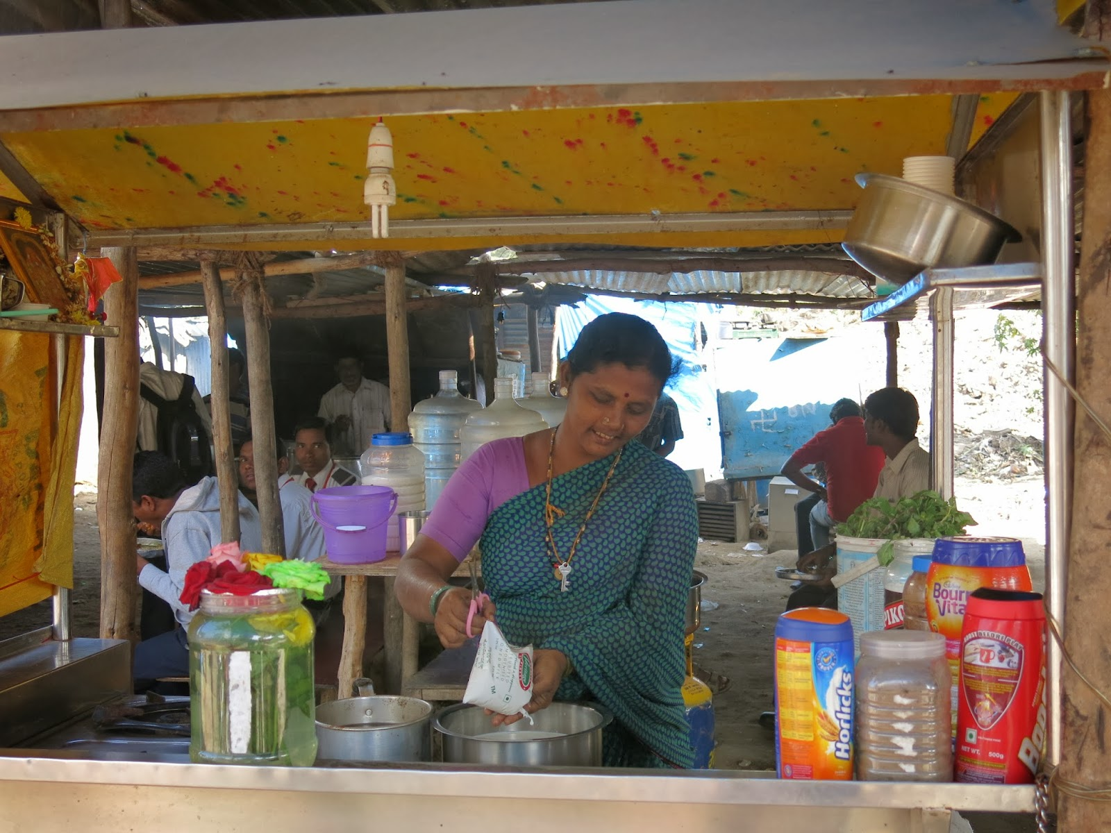 Testånd Whitefield, Bangalore, Indien