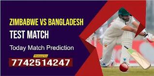 Bangladesh tour of Zimbabwe Test, Match Only: Bangladesh vs Zimbabwe Today Match Prediction Ball By Ball