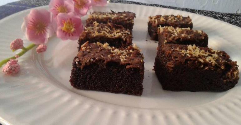 . Resep brownies panggang sederhana pakai mixer
